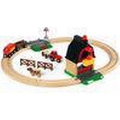 Brio Farm Railway Set 33719
