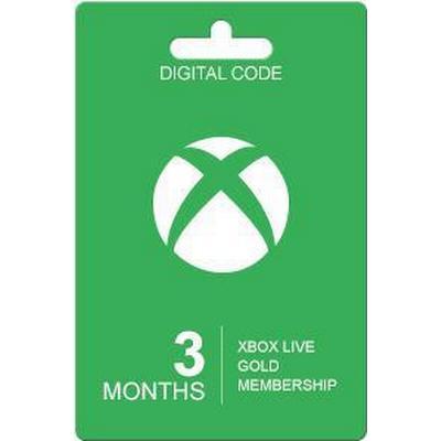 Microsoft Xbox Live - 3 Months