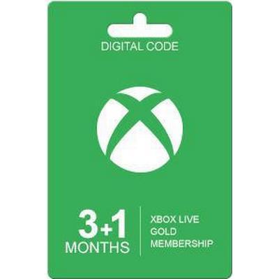 Microsoft Xbox Live Guldkort - 4 Månader
