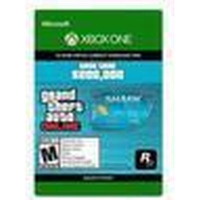 Rockstar Games Grand Theft Auto Online - Tiger Shark Cash Card - Xbox One