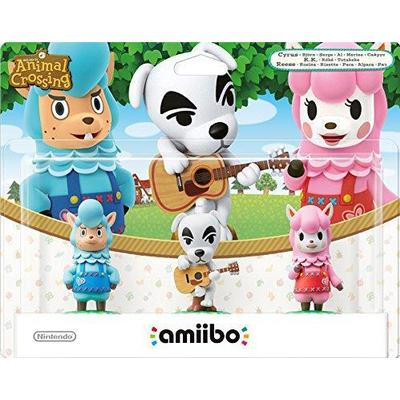 Nintendo Amiibo Animal Crossing - Triple Pack, Reese, K.K. Slider & Cyrus