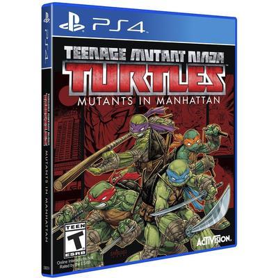Teenage Mutant Ninja Turles: Mutans In Manhattan