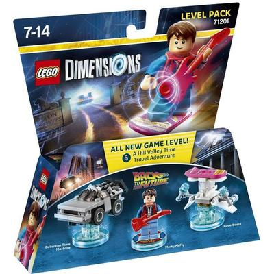 Lego Dimensions Tillbaka till Framtiden 71201
