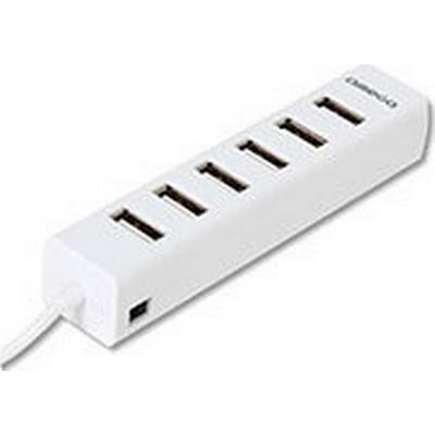 Omega OUH7PW 7-Port USB 2.0 Extern