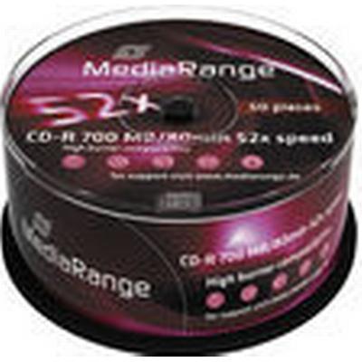 MediaRange CD-R 700MB 52x Spindle 50-Pack