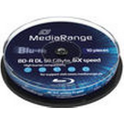 MediaRange BD-R 50GB 6x Spindle 10-Pack