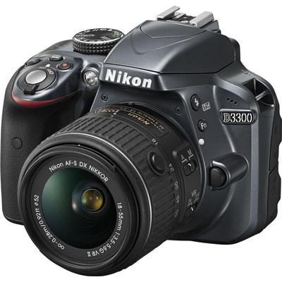 Nikon D3300 + 18-55mm