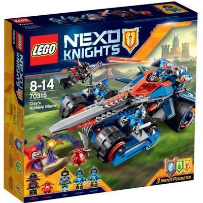 Lego Nexo Knights Clay's Rumble Blade 70315