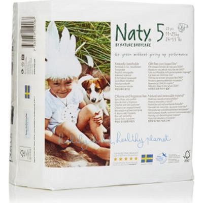 Naty Eco Nappies Size 5 Junior
