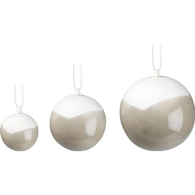 Kähler Nobili Decoration Baubles 3-pack Julgranskulor