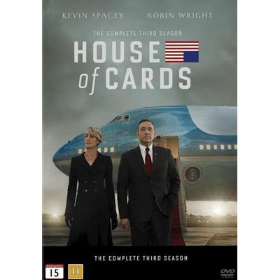 House of cards: Säsong 3 (4DVD) (DVD 2015)