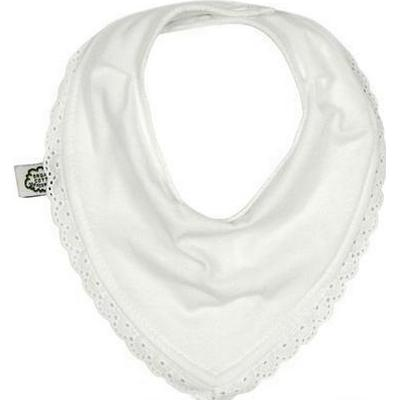 Imsevimse White with Lace Bandana Bib