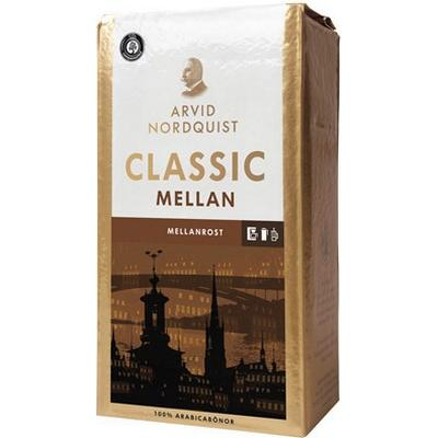 Arvid Nordquist Kaffe Classic Brygg Mellanrost 500g 12-Pack