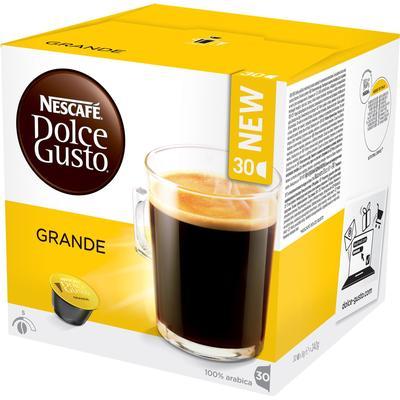 Nescafé Dolce Gusto Grande 30 kaffe kapslar