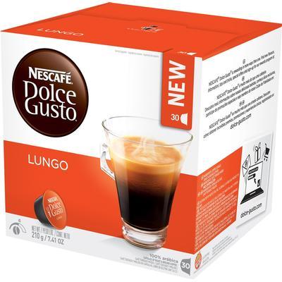 Nescafé Dolce Gusto Lungo 30 Kaffe Kapslar