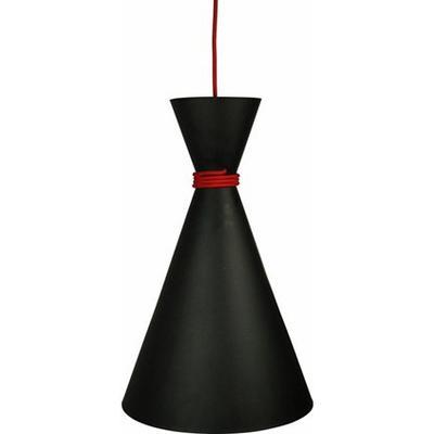 Oriva Black 30cm Taklampa
