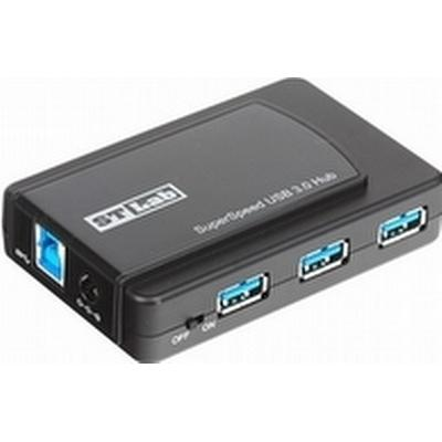 ST Lab U-770 7-Port USB 2.0/ USB 3.0/3.1 Extern