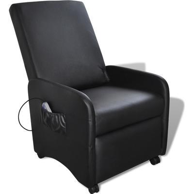 vidaXL Vikbar vilstol med massage 241683