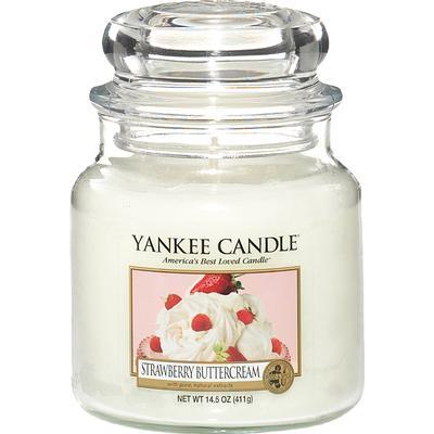 Yankee Candle Strawberry Buttercream 411g Doftljus