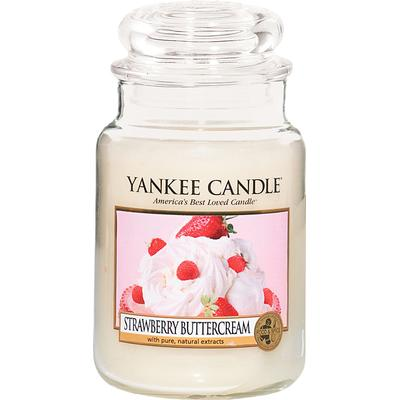 Yankee Candle Strawberry Buttercream 623g Doftljus