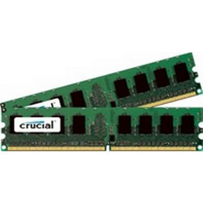 Crucial DDR2 800MHz 2x1GB ECC (CT2KIT12872AA80E)