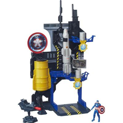 The Avengers Face Off Playset Captain America Bunker