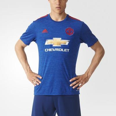 Adidas Manchester United AWAY Plain Jersey 16/17 Sr