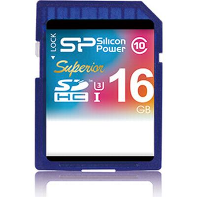 Silicon Power Superior SDHC UHS-I U3 16GB