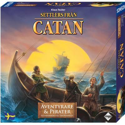 Catan: Äventyrare och Pirater