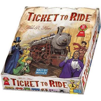 Days of Wonder Ticket to Ride Resespel