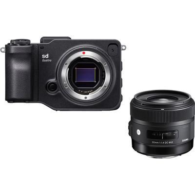 Sigma sd Quattro + 30mm