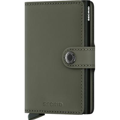 Secrid Mini Wallet - Matte Green