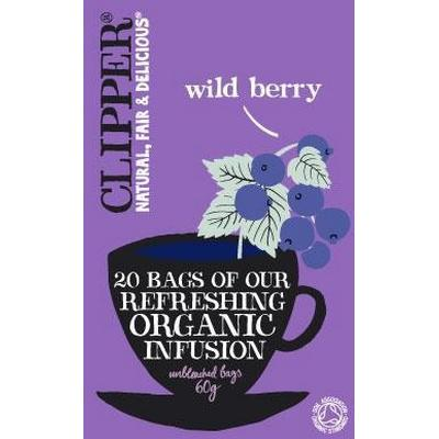 Clipper Organic Wild Berry Infusion 20 Tepåsar