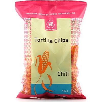Urtekram Tortilla Chips Chili