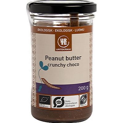 Urtekram Peanut Butter Crunchy Choco Eko