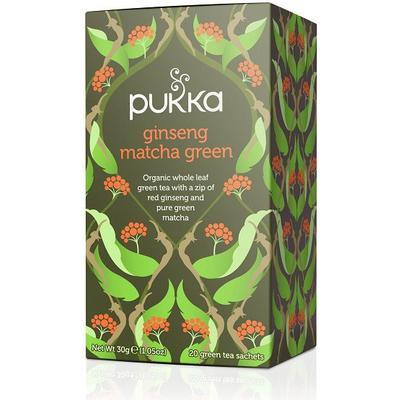 Pukka Ginseng Matcha Green 20 Tepåsar