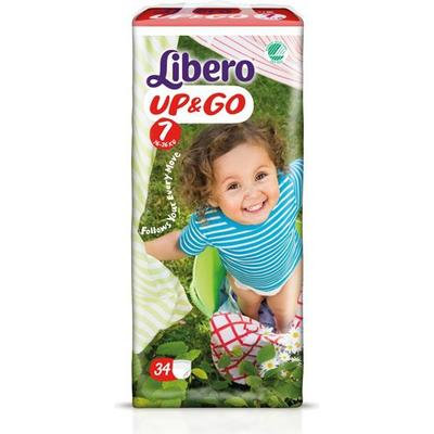 Libero Up & Go 7, 16-26kg, 34 pcs