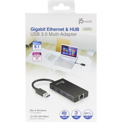 j5create JUH470 2-Port USB 2.0/ USB 3.0/3.1 Extern