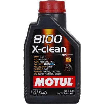 Motul 8100 X-Clean 5W-40 Motorolie