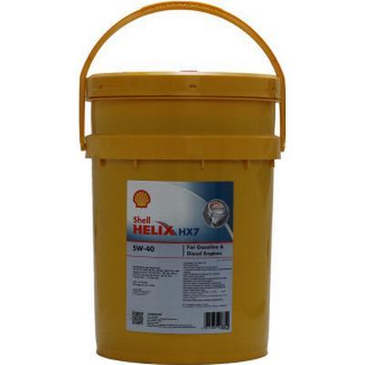 Shell Helix HX7 5W-40 Motorolie