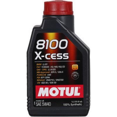 Motul 8100 X-cess 5W-40 Motorolie