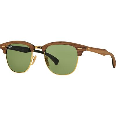 Ray-Ban Clubmaster Wood Walnut RB3016M 11824E