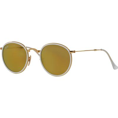 Ray-Ban Round Folding Flash Lenses RB3517 001/93