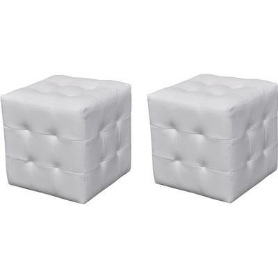 vidaXL Hocker 2-pack