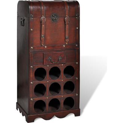 vidaXL Antique Wooden Vinställ 790x270 mm