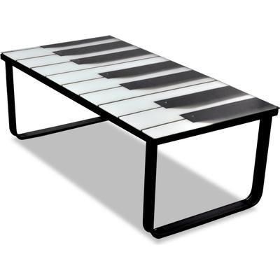vidaXL 241174 Piano 90cm Soffbord