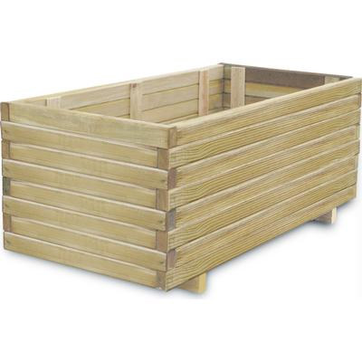 vidaXL Rectangular Planting Box 100cm