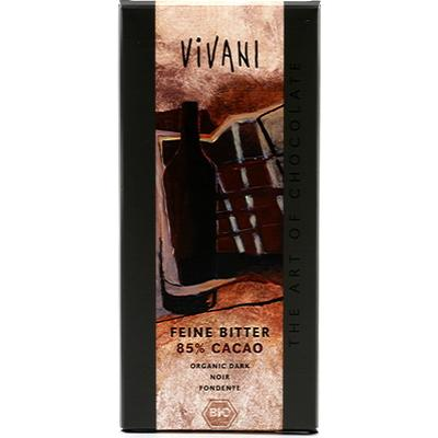 Vivani Slät Mörk Choklad 85% Kakao