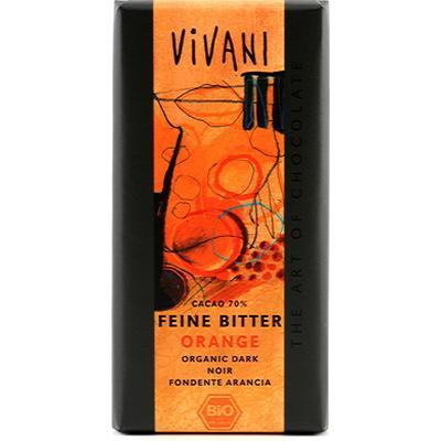 Vivani Fine Mörka Apelsin 70% Kakao