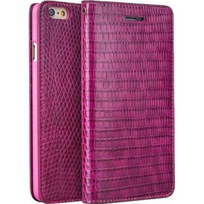 Qialino Crocodile Pattern Leather Wallet Case (iPhone 6/6S)